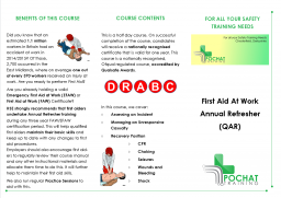 First Aid at Work Annual Refresher Course