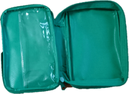 Inside of First Aid Kit Pouch