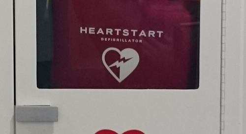 AED Chesterfield town centre