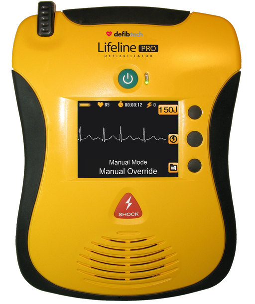 Lifeline PRO: semi automatic AED for professionals