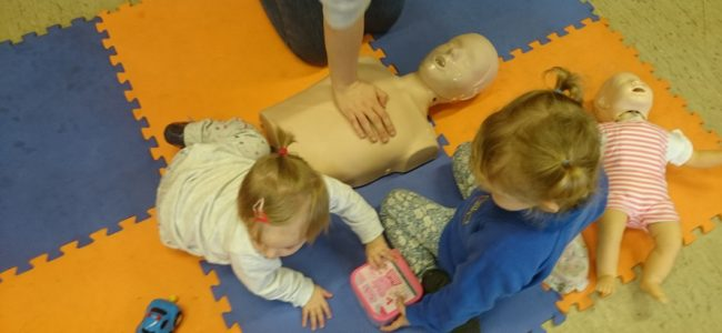 Learning paediatric CPR