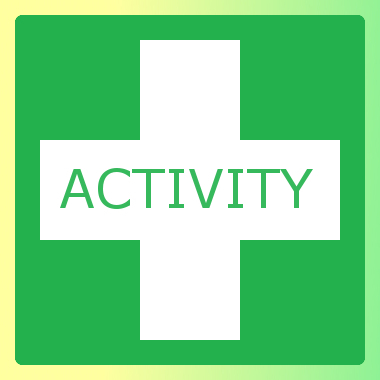 We now also offer QA Level 2 Award in Activity First Aid (QCF)
