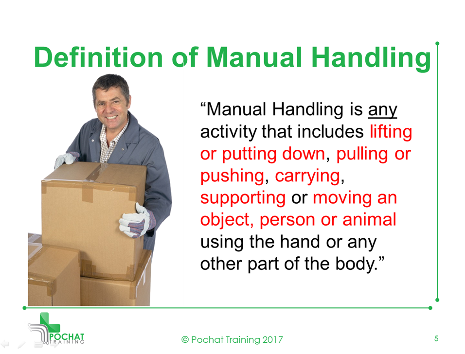 What is Manual Handling?