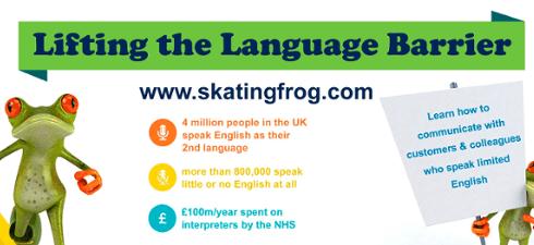 Skating Frog