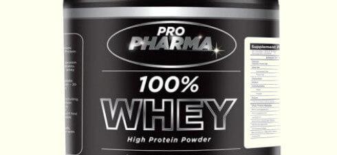 Allergen Recall: Pro Pharma 100% Whey High Protein Powder