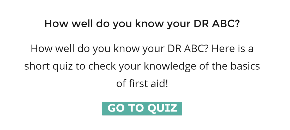 Go to our DR. ABC Quiz