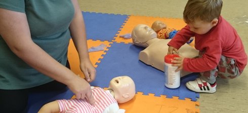 CPR on a Baby/Infant and Child