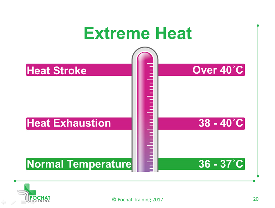 How to Recognize Heat Exhaustion and Heat Stroke | Pochat