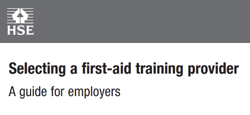 Selecting a First Aid Training Provider