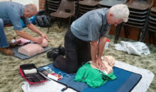 CPR is one of the many lifesaving skills our students learn on our courses