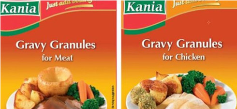 Kania Gravy is being recalled due to chemical contamination.
