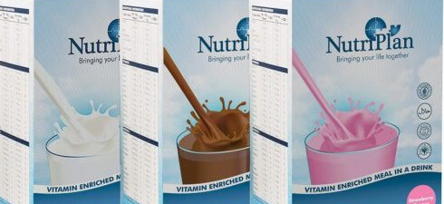 NutriPlan's Vitamin and Mineral Enriched Meal in a Drink are recalled because it contains milk and soya which are not clearly mentioned on the label.