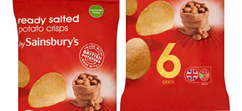 Some 6 packs of Sainsbury's Ready Salted Crisps contain undeclared milk