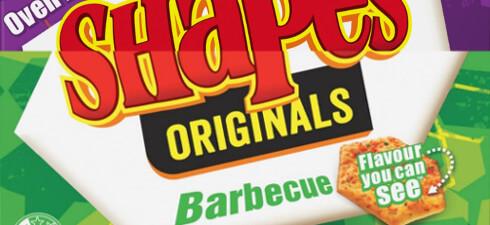 Arnotts Shapes Originals Barbecue and Arnott's Shapes Originals Pizza