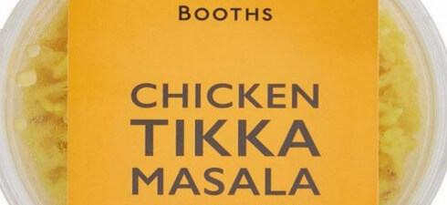 Booths Chicken Tikka Masala