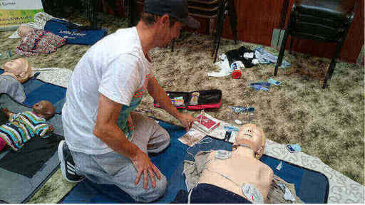 Basic Life Support of Adults and Children course