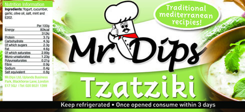 Mr Dips Cyprus Jasmine Tzatziki