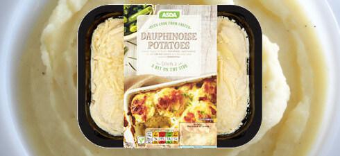 Asda Dauphinoise Potatoes