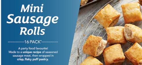 Greggs Mini Sausage Rolls (frozen)