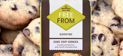 Morrisons Free From Choc Chop Cookes