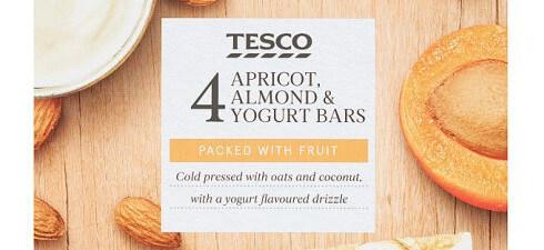 Tesco Apricot, Almond & Yoghurt Bars