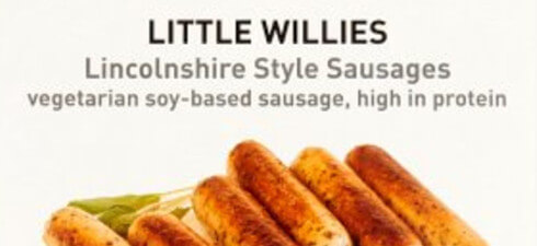 Little Willies Lincolnshire Style Sausages