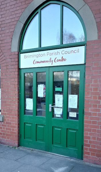 Some of our first aid and training on safety courses are held at the Brimington Community Centre in Brimington, Chesterfield, Derbyshire