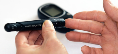 Diabetes, testing bloodsugar levels
